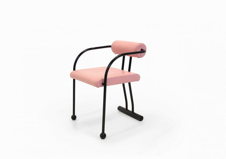 Pink Norwegian Armchair from Ekornes Møbler ASA, 1980s for sale at Pamono