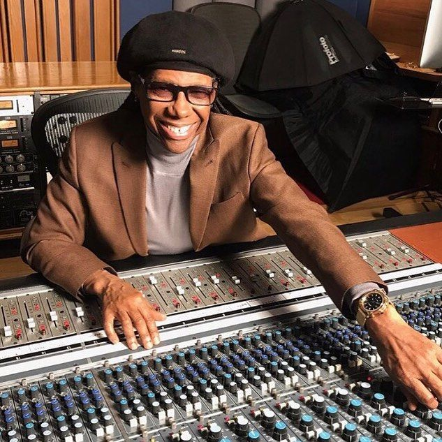 #Music Producer, Mr. Nile Rodgers prepares for the #Grammys this month. During the years Mr. Rodgers has done collaborations with stars such as David Bowie, Diana Ross, #Avicii, Duran Duran, Brittany Spears and #Madonna to mention a few.