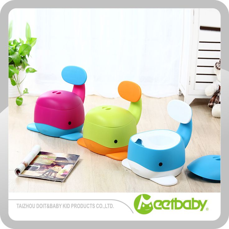 new style plastic baby potty cute whale potty seats