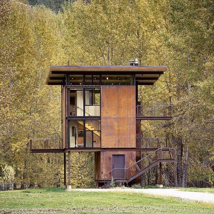 87 Best Stilt Houses Images On Pinterest Cottage Small