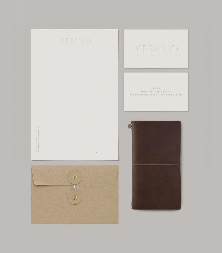 Yes/No - mabu — Design & Typography