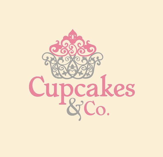 Cupcakes and Co. Logo by lengkyx.deviantart.com