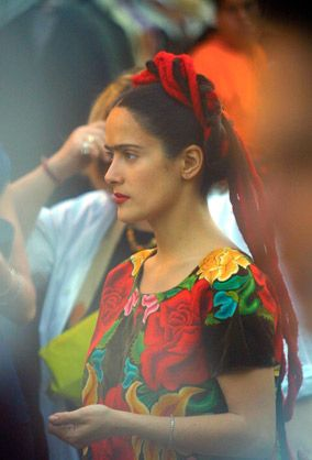 In 2002 Frida, a biographical film, was released. Salma Hayek played the role of Frida Kahlo. (© SERVIN HUMBERTO/CORBIS SYGMA)