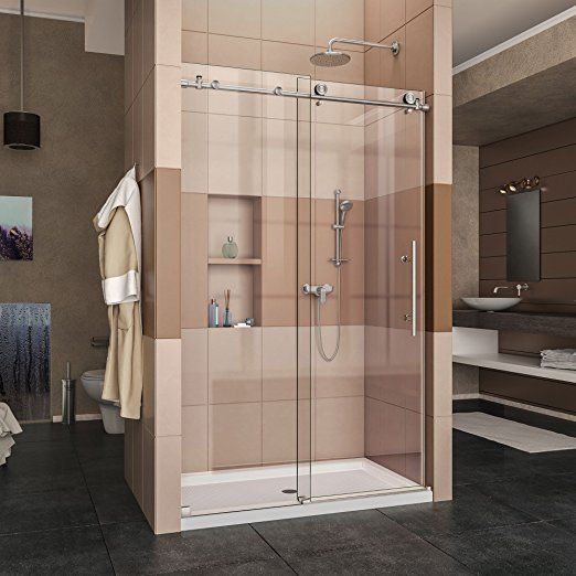 1000 Ideas About Frameless Sliding Shower Doors On