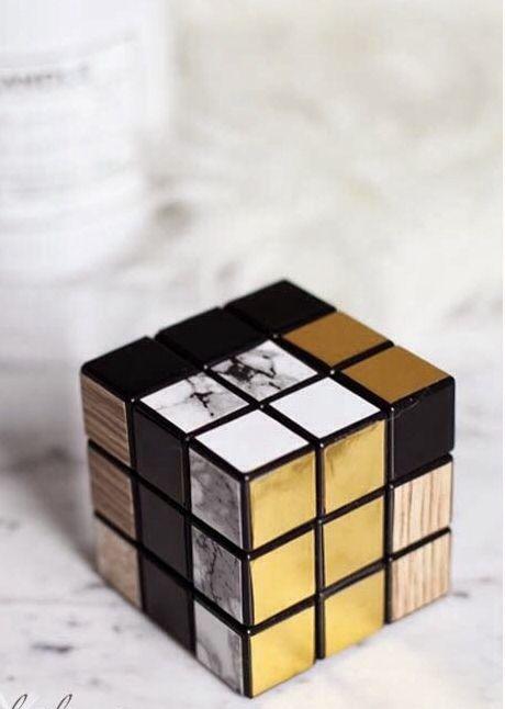 Rubik's cube reworked