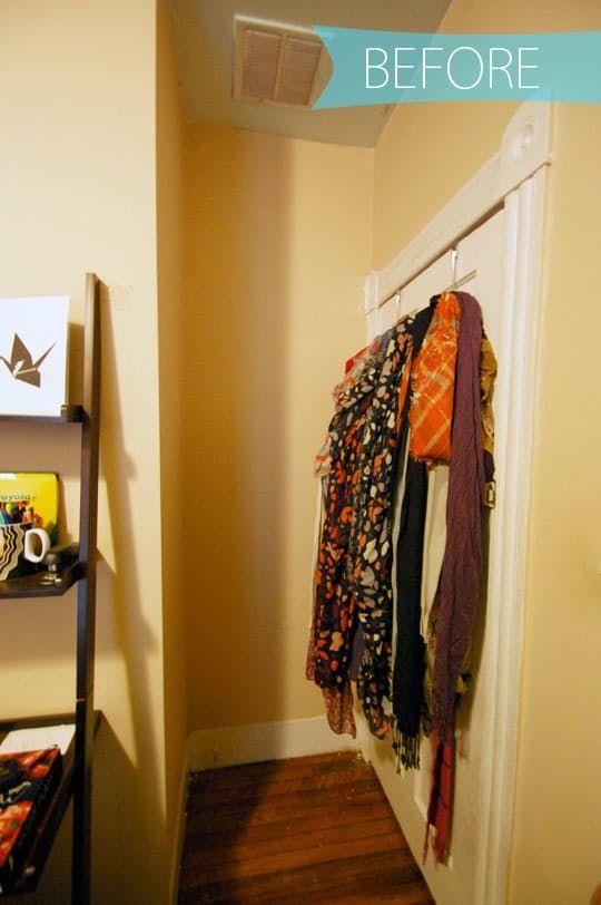 1000 Ideas About Scarf Storage On Pinterest Scarf