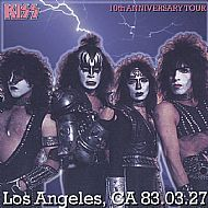 Kiss - Los Angeles March 27th 1983 CD