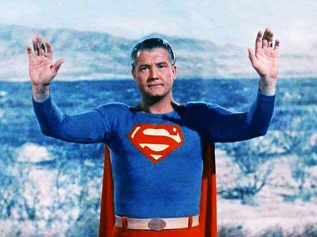 Superman Photo Gallery 02 George Reeves Superman Superman Photos First Superman