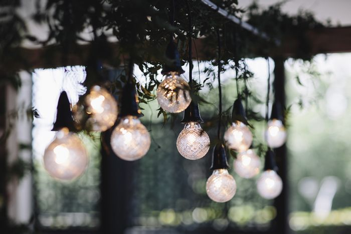 #wedding, #lights, #hanging, light arrangement, vintage, modern, inspiration, #arch #weddingarch #wedding #styling #weddingflowers, marriage, green, spring Styling by The Style Co, Melbourne, Circa, , shoes, photography by Leo Farrell, venue Circa the Deck St Kilda