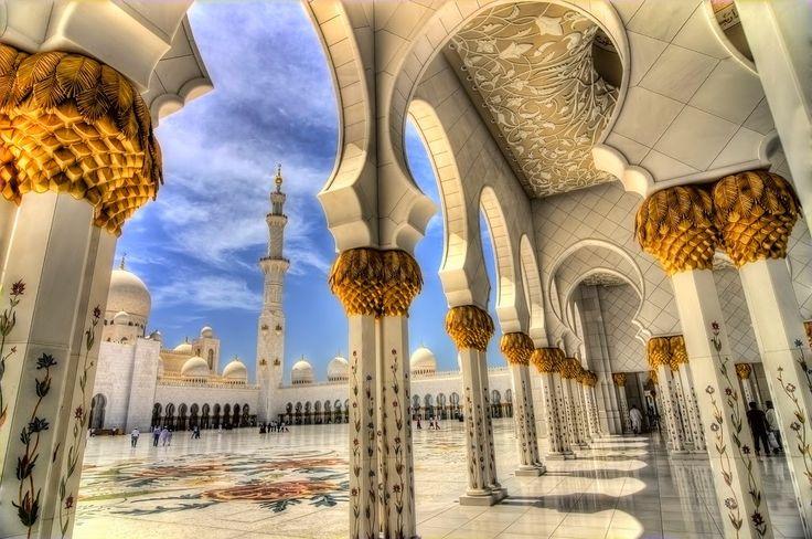Sheikh Zayed grand mosque - Abu Dhabi United Arab Emirates Travel notes: Wish list #2