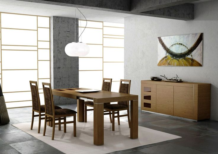 Looks Impressive Wooden Dining Room Ideas Wallpaper
