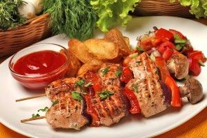 Chicken Shashlik Sticks Recipe