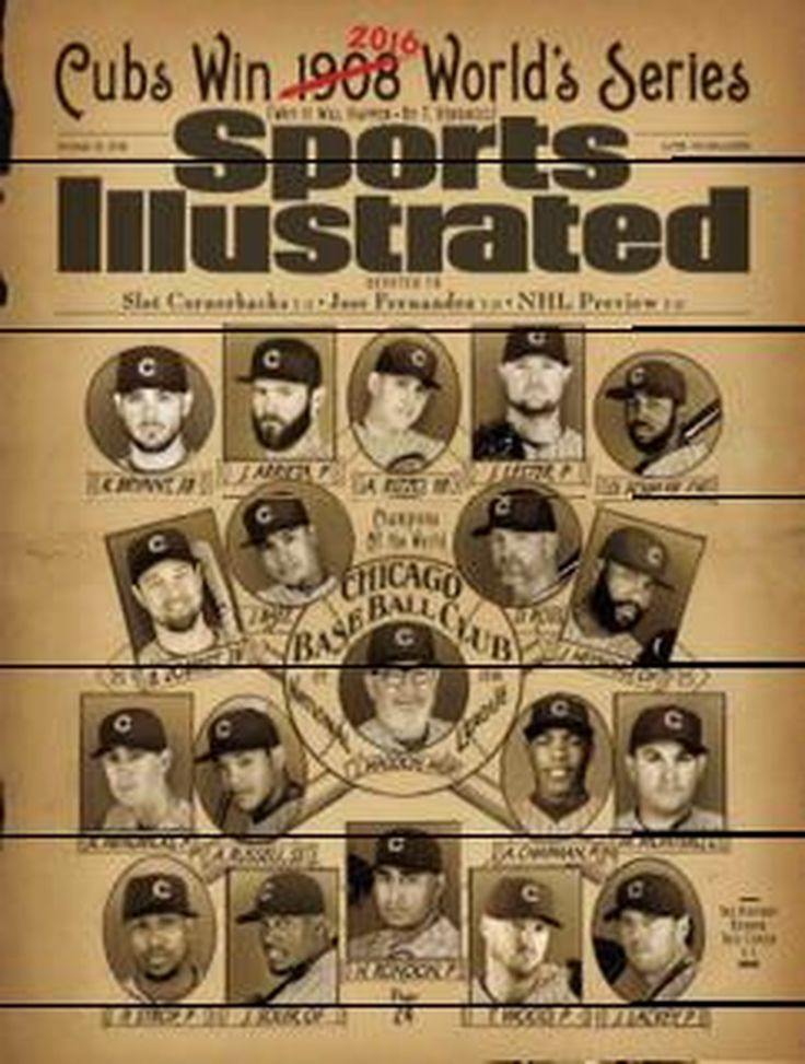 sports illustrated covers | Jinx alert: Sports Illustrated puts Cubs on cover and predicts World ...