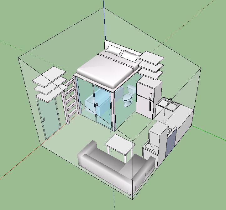 Phoenix Microhouse - 225 Square Feet | Tiny house design ...