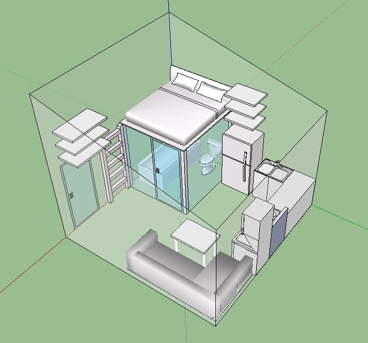 Phoenix Microhouse - 225 Square Feet