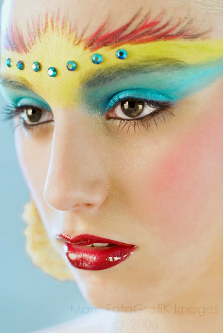 CARNAVAL - Make up - 20 ideias