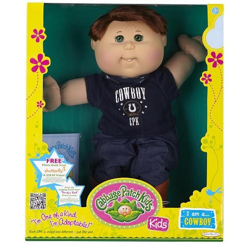 Cabbage Patch Kids Toddler Doll Caucasian Boy - Brunette - Cowboy  - Jakks Pacific 1001196 -  Baby Dolls - FAO Schwarz®
