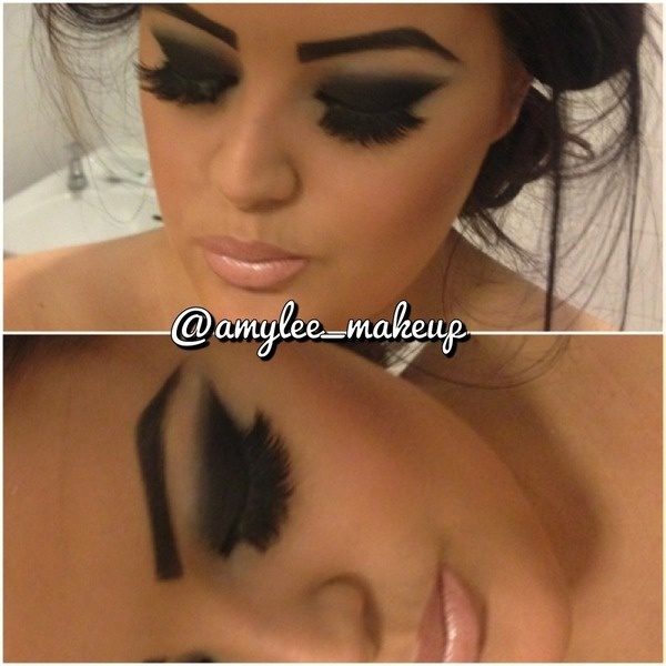 Black smokey eye! This is how you do it! BLEND IT OUT PEOPLE!