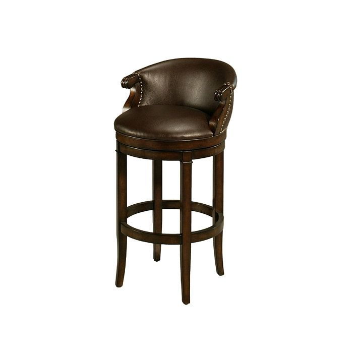 Princetown Swivel Barstool in Bonded Leather Upholstery. Need super tall  for my bar! Pastel FurnitureBonded ... - 57 Best Bar Stools And Chairs Images On Pinterest