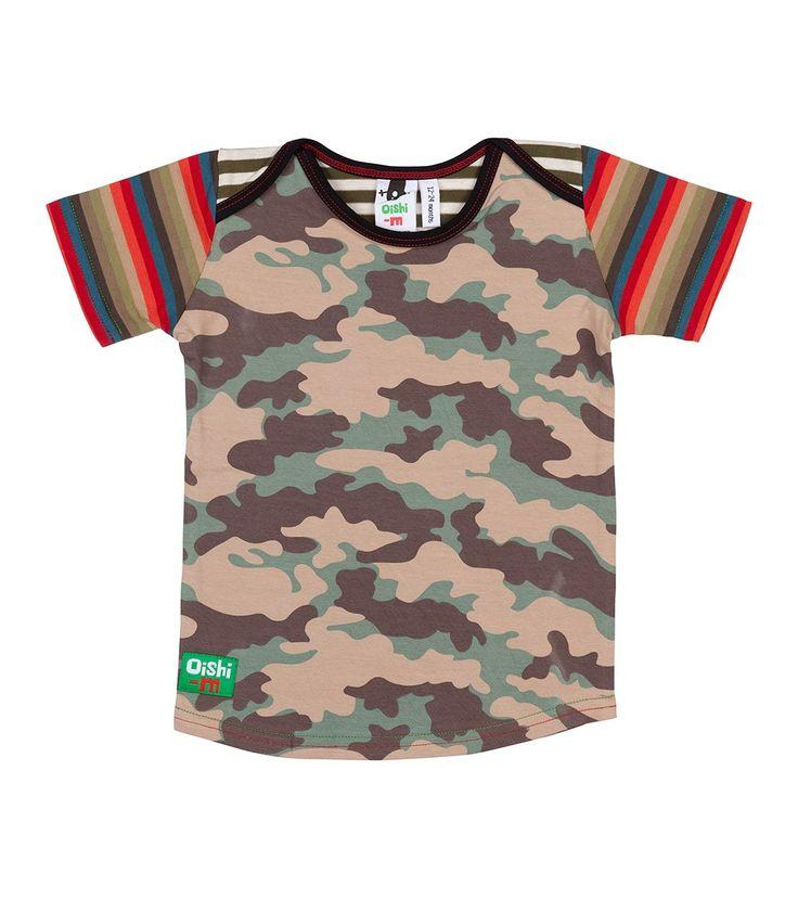 Locked in Arms S/S T Shirt, Oishi-m Clothing for kids, Hi Summer 2015, www.oishi-m.com