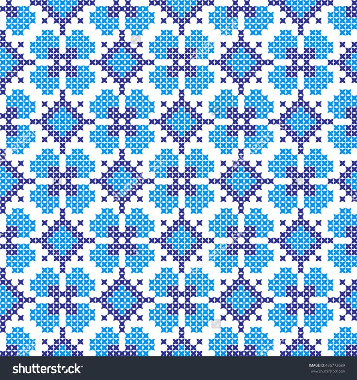 Embroidered Pattern On Transparent Background Stock Vector Illustratie 436772689 : Shutterstock