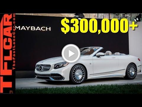 #Mercedes-MayBach S650 Cabriolet Costs Over $300,000