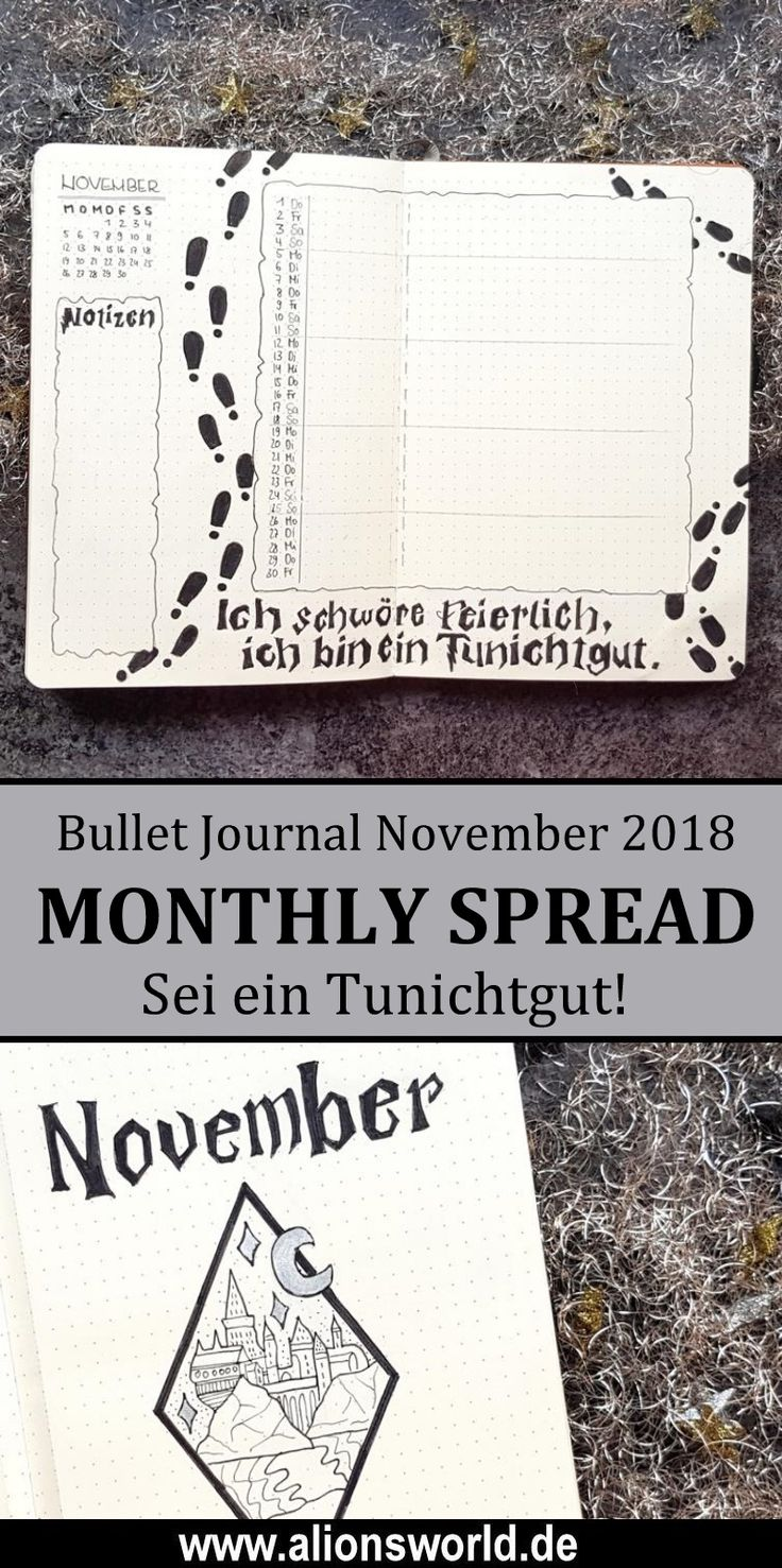 Es wird magisch! Mein Harry Potter Bullet Journal-Setup