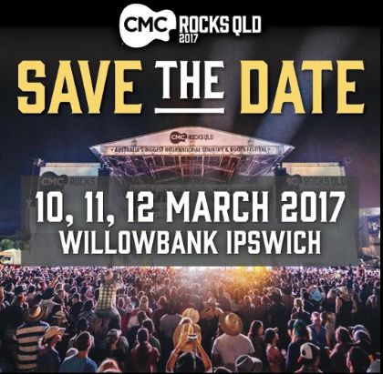 CMC ROCKS QLD  2017 Dates Announced