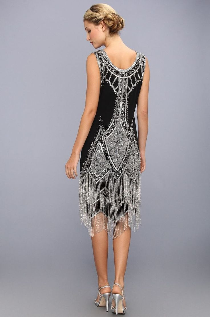 robe charleston années 20 inspirée par Gatsby le Magnifique Plus
