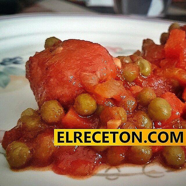 Unas buenas #albondigas   elreceton.com  #elreceton  #meatballs #foodlovers #foodpic #food #foodporn #foodie #foodgasm #instapic #instafood #instamood   #recipe #recetas #receton   #delicious #delicia #delish  #gastronomia made in #spain