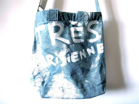 Très Parisienne Shoulder Tote Bag / Ready to by MyLittleFrenchShop
