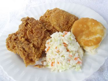 KFC recipe - YUMMY!  I made it tonight and only omitted the MSG ingredient :)
