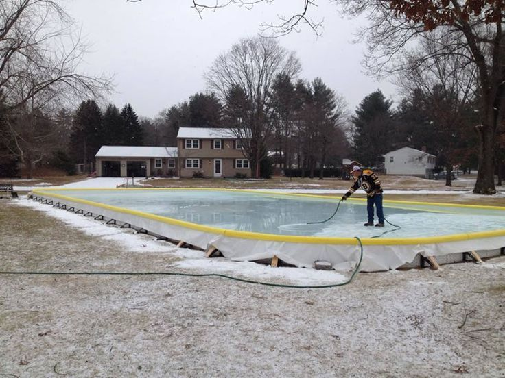 Merveilleux NiceRink Backyard Ice Rink Kit Makes Your Yard The Perfect Place To Skate