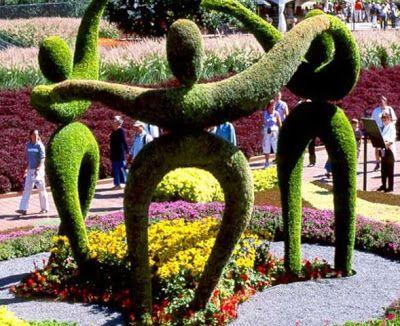 Die Besten 17 Bilder Zu Topiary Auf Pinterest | Gärten, Hecken Und ... Lebendige Skulpturen Im Garten Atlanta