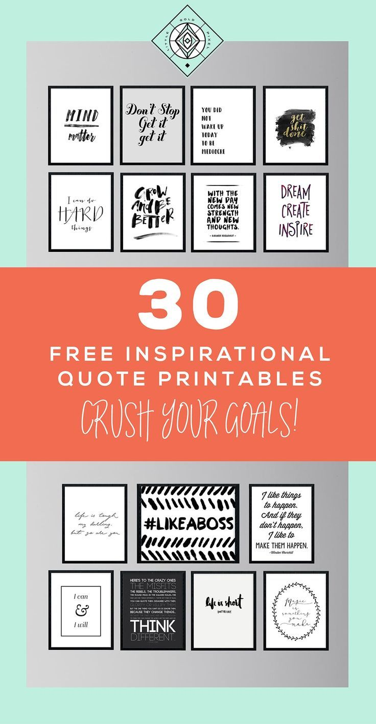30 Free Inspirational Quotes to Help You Kill It This Year