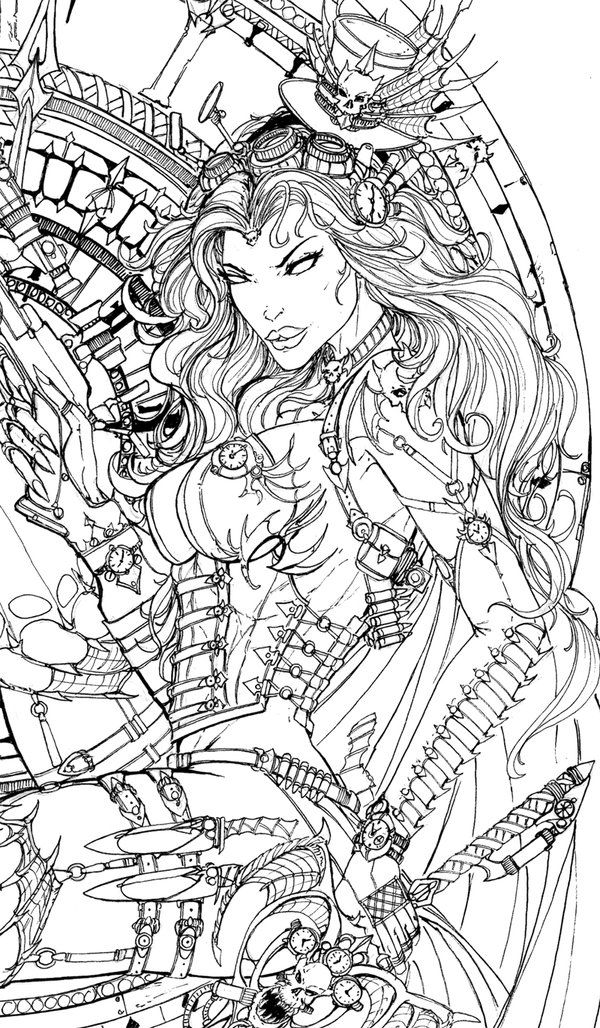 2014 MegaCon exclusive! Edition enhanced withreal Swarovski crystals, designed and applied by Francisca Pulido. Limited to 99 serially numbered copies! Signed by Lady Death creator Brian Puli...
