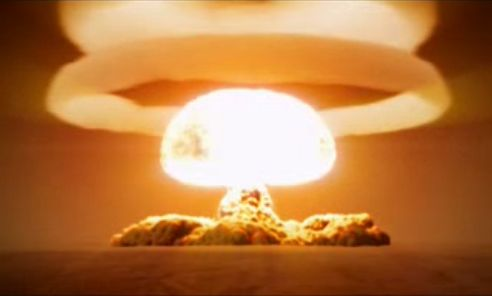 The Tsar Bomba, the largest nuke ever made, shattered window panes on houses…