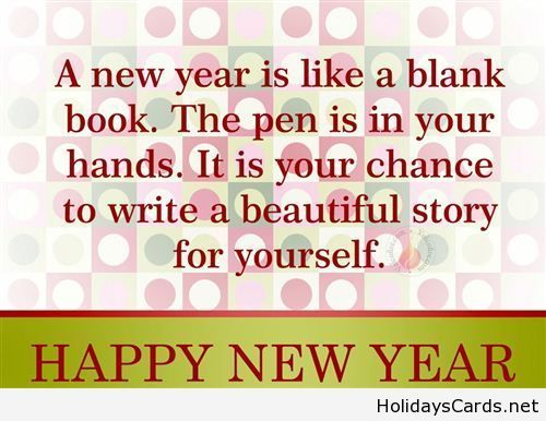 New Year of possibilities