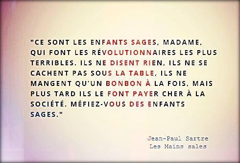 """Jean-Paul Sartre """"Les mains sales"""""""