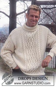 Роскошный мужской свитер