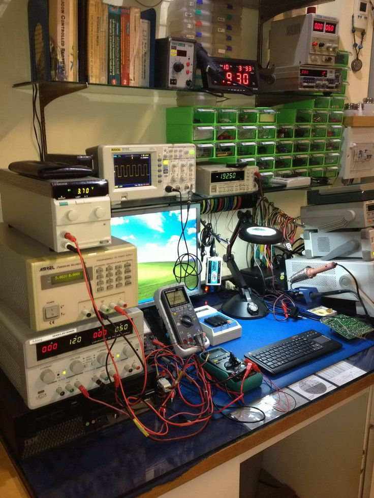 Whats your Work-Bench/lab look like? Post some pictures of your Lab. – Page 23Alexander Ramos