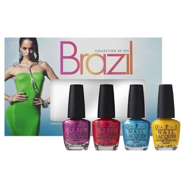 OPI Brazil Liquid Sand Mini kit #beauty #makeup #summer2014