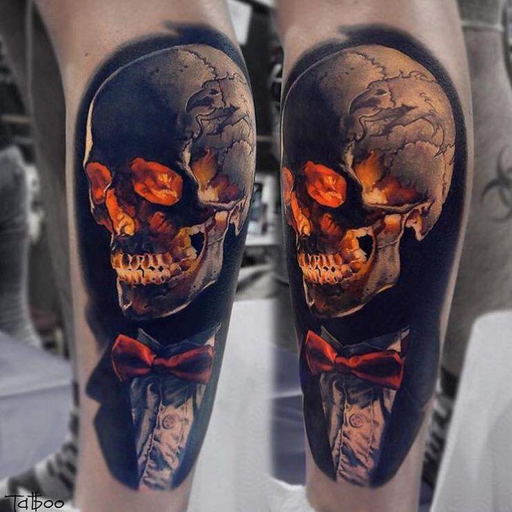 Amazing tattoo by Valentina Riabova