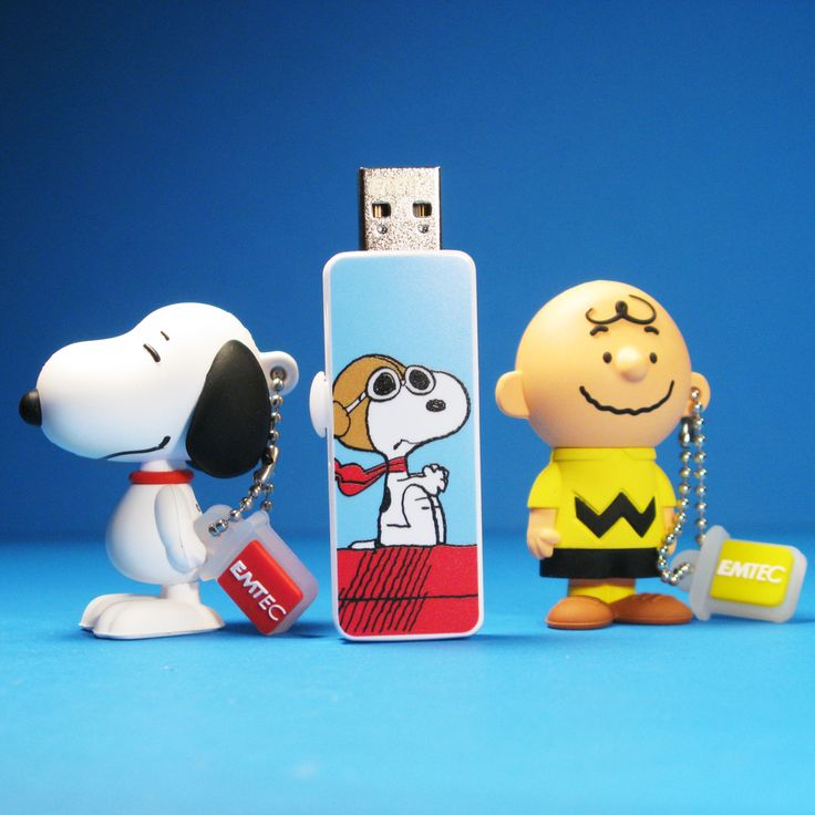 The Peanuts gang goes digital with EMTEC USB Flash Drives! Explore the features of the Snoopy and Charlie Brown drives and find out where to buy them at CollectPeanuts.com.