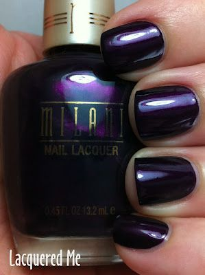 Oh, Gosh! I just love this color! Milani Deep Thoughts (Spring 2012). Very pretty.