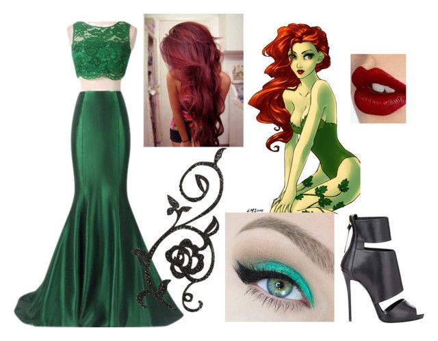 """""""Posion Ivy Outfit"""" by beautyisamaze ❤ liked on Polyvore"""