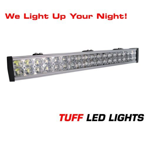 Tuff LED Lights Off Road 4x4 Jeep 30 Inch Super LED Light Bar 108 Watt 5900 Lumens UTV Side By Side Polaris Razor RZR Yamaha Rhino Can Am Commander Like Rigid E Series SUV Truck Trailer INCLUDES FREE UNIVERSAL WIREHARNESS WITH INLINE FUSE RELAY AND TUFF LED PILOT TOGGLE SWITCH >>> You can find out more details at the affiliate link of the image.