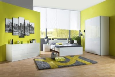 Mobilier - La Chambre Adulte - Commodes & Chiffonniers - Commode 2x3 tiroirs BEST LAK Blanc