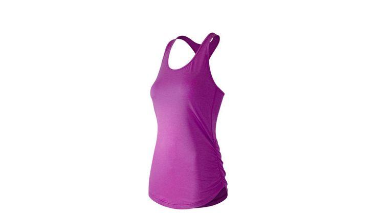 Женский топ New Balance The Perfect. Прекрасно подойдет для тренировок. #мужчины, #еда, #часы, #ремни, #мода, #стиль, #аксессуары