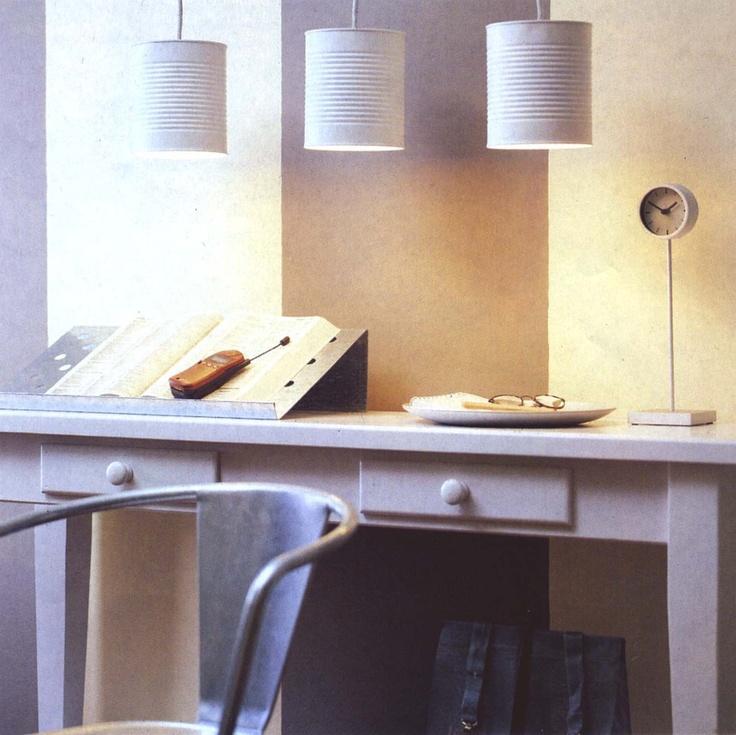 boite de conserve lampe bedroom pinterest. Black Bedroom Furniture Sets. Home Design Ideas